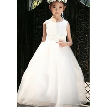Vestido Infantil Festa Daminha Princesa Florista