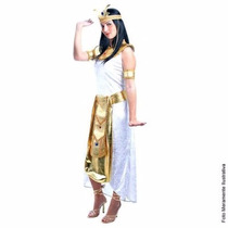 Fantasia Cleópatra Adulto Sulamericana Tam. M ( 40 A 42)