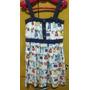 Lindo Vestido Infantil Alphabeto Girls Tamanho 4