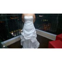 Vestido De Noiva Semi Novo Oportunidade Única! Muito Novo!!!
