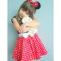 Vestido Fantasia Minnie , Pronta Entrega, Confecção Própria
