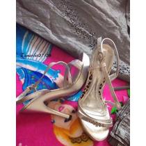 Vestido Para Festas + Sandalia Tam38