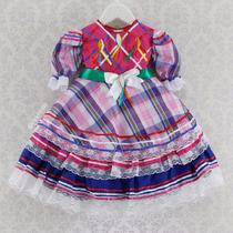 Vestido Festa Junina Infantil Menina Caipira Chic (cpc804)