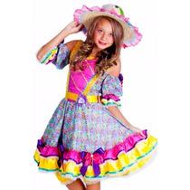 Vestido Festa Junina Juvenil E Adulto Bertha