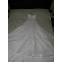Vestido De Noiva - Renda Francesa
