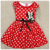 Vestido Festa Minnie