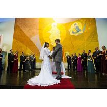 Lindo Vestido De Noiva Semi Novo