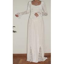 Vestido De Noiva Celta Modelo Único Casa Vians Couture