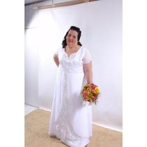 Vestido De Noiva Tamanho Nobre