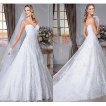 Vestido De Noiva Tomara Que Caia Importado Maravilhoso 032