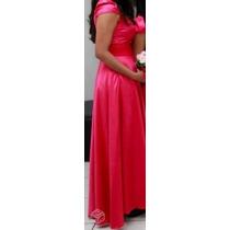 Lindo Vestido De Festa ,rosa Pink