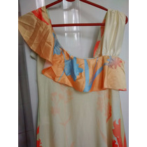 Lindo Vestido Les Filós,colorido, Original,baratissímo!!!