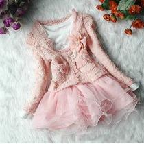 Vestido Conjunto Importado Pronta Entrega Roupas Bebe Crianc