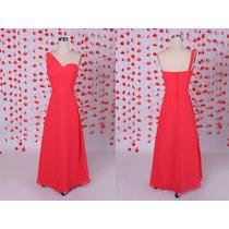 Vestido De Cocktail Vermelho Um Ombro Vestidos De Noiva