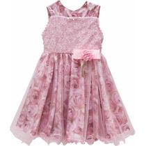 Vestido Infantil Para Festa Batizado Madrinha Tamanho 3
