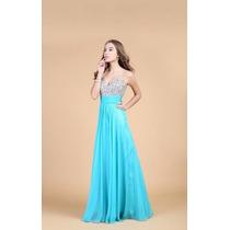 Vestido Festa/madrinha/casamento/formatura Tiffany-p/entrega