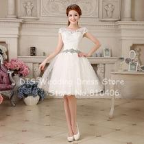 Vestido De Casamento Noiva Curto