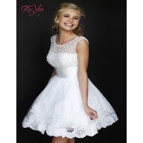 Vestido De Noiva Casamento Curto