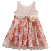 Vestido Infantil Festa Batizado Aniversario Madrinha T03