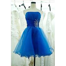 Vestido Curto Debutante 15 Anos Festa Princesa Importado