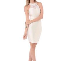 Maria Gueixa - Vestido Saia Bandage Off White