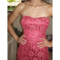 Lindo Vestido Longo Rosa - Tomara Que Caia - Tamanho P