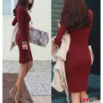 Vestido Tubinho Básico - Outono Inverno