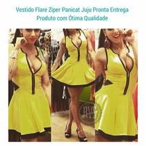 Vestidogodê Femininozíperfrontal Tule Lateral Panicat