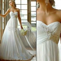 Vestido Noiva Civil Importado Noivas Frete Único 39; 90