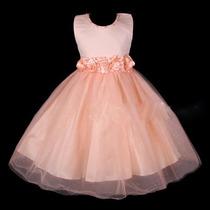 Vestido Festa Infantil Luxo Importado Lindo