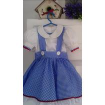 Fantasia Estilizada Infantil - O Mágico De Oz - Dorothy