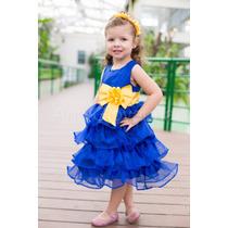 Vestido Minions Infantil