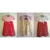 Lindos Vestidos Infantis - Tamanhos 3 À 12