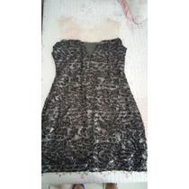 Vestido De Paetê Preto