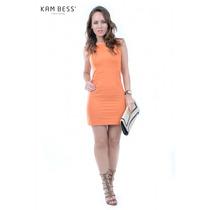 Vestido De Tecido - Kam Bess - Ve0275