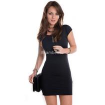 Vestido Franzido - Kam Bess - Ve0399