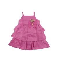 Vestido Menina Popeline Tam.01-04 Hello Kitty Frete Grátis