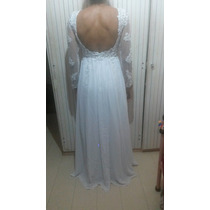 Vestido De Noiva - Lindo - Rústico - Vintage - Folk