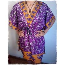 Bata / Vestido Hippie E Vintage Feminino