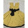 Vestido Infantil De Tricoline
