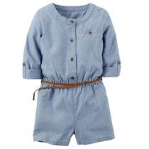 Macacão E Vestido Infantilcarters 2, 3,4 E 5 Anos