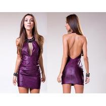 Vestido Labellamafia Original Purple Promoção Envio Imediato