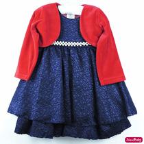 Vestido Infantil Festa Luxo Renda Com Bolero E Tiara