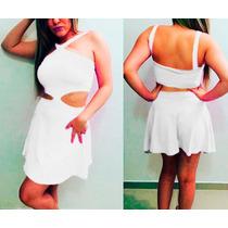 Vestido Reveillon Vestido Fim De Ano Curto Branco