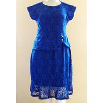 Vestido De Renda Plus Size (veste 46-48) - Linda Evangélica