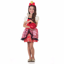 Fantasia Infantil Ever After High Apple White Luxo