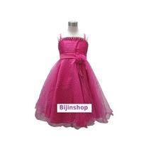 Vestido Infantil Pink, Rosa, Lilas Ou Branco Tam 2,3 Ou 4