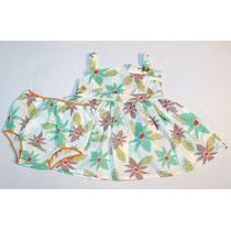 Vestido Monet Floral Grow Up Menina 1-3 Meses Outlet