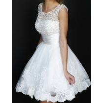Vestido De Noiva Curto Pérola Casamento