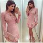 Loja Vestido Renda Rosa Anitta Festa Balada Frete Gratis Rj